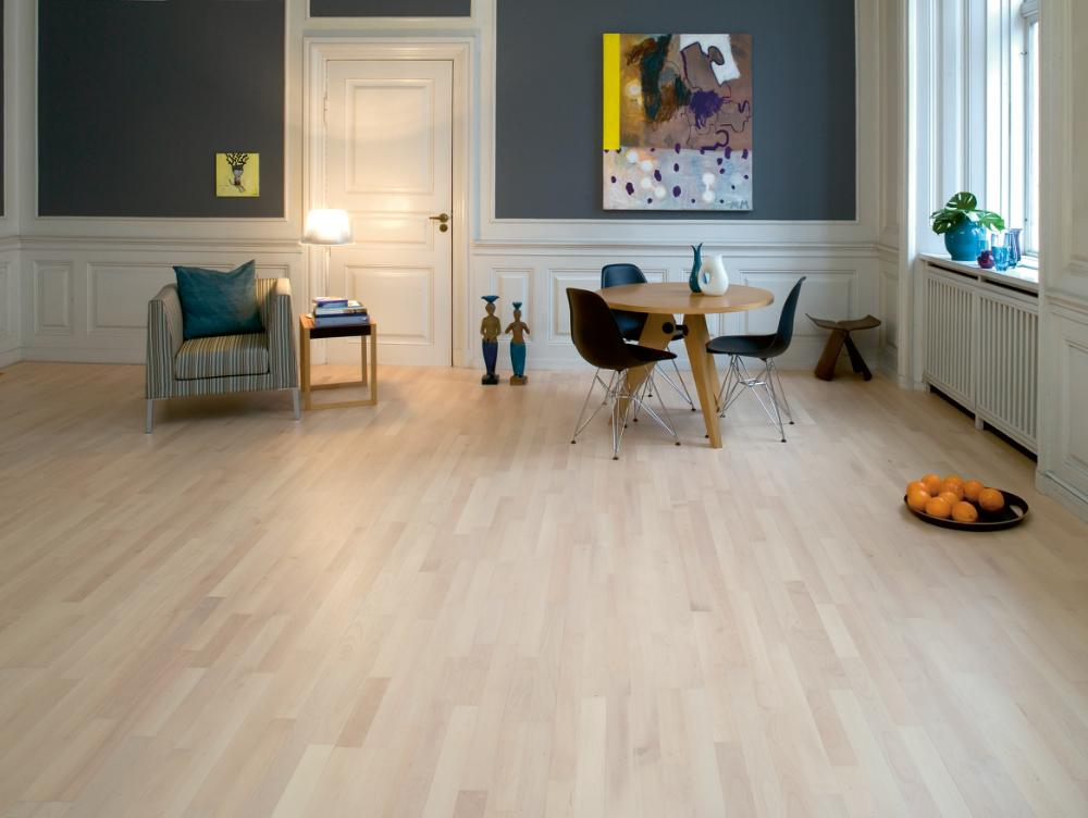 Beech Nordic - 2 strip Wooden flooring